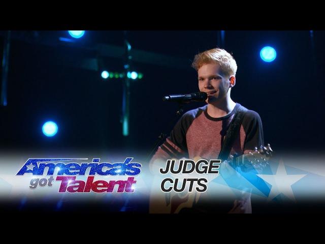 Chase Goehring Singer Songwriter Gets Golden Buzzer From DJ Khaled - Americas Got Talent 2017