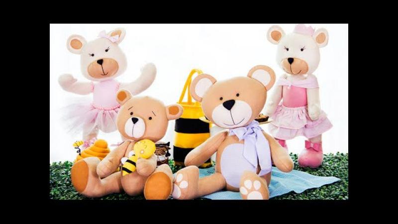 Curso online de Feltro: decoração com ursos | eduK.com.br
