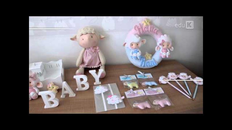 Curso online de Feltro: decoração e utilitários para maternidade | eduK.com.br