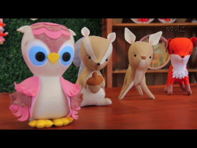 Curso online de Feltro em decoração para bebês: Floresta encantada | eduK.com.br