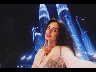Малайзия. Куала Лумпур. Слушаем русскую музыку в такси. Завораживающие башни Петронас. Храм в горах