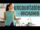 Uncountable English Nouns | Fix Common Grammar Mistakes Errors