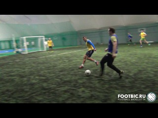 FOOTBIC.RU. Видеообзор 20.01.2017 (Метро Марьина Роща). Любительский футбол