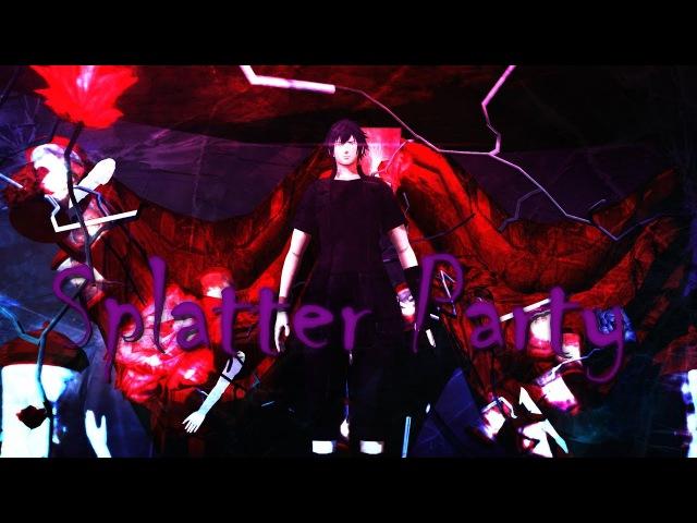 {MMD Final Fantasy XV} Splatter Party - Noctis Lucis Caelum
