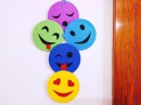 DIY Smiley Room Decor Super easy Recycle your old CDs Karthika Loves DIY