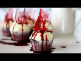 Bloody Broken Glass Cupcake Recipe + Fake Blood Recipe  Halloween Recipe