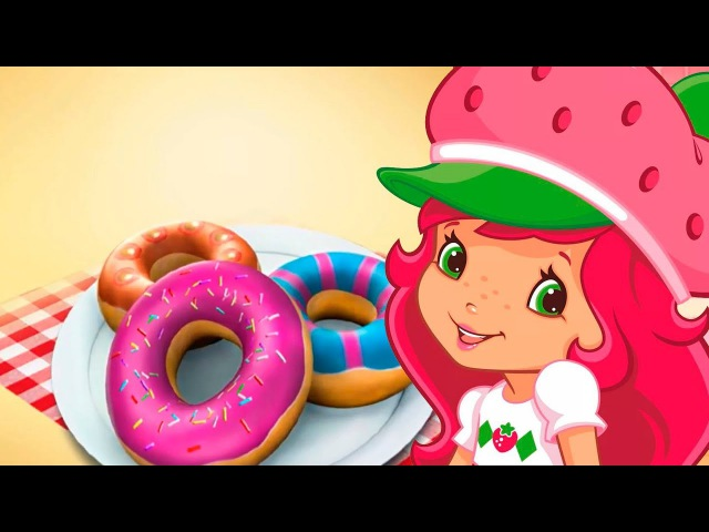 Strawberry Shortcake: Learn Cake Cooking Learn Make donuts, pastry, bread, pie. Games for kids.