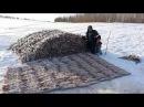 Зимняя рыбалка в Тайге. Рыбалка на Таежных реках. Рыбалка в Сибири. Winter fishing in the Tai