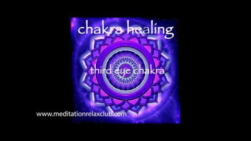 Chakra Healing Balancing - Third Eye Chakra Ajna Meditative Healing Music