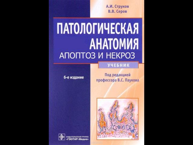 Глава 3. АПОПТОЗ НЕКРОЗ. Смерть, посмертные изменения. Патологическая анатомия.