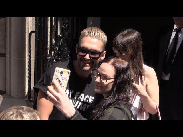 EXCLUSIVE - Bill Kaulitz Tokio Hotel at Vlone Fashion show in Paris