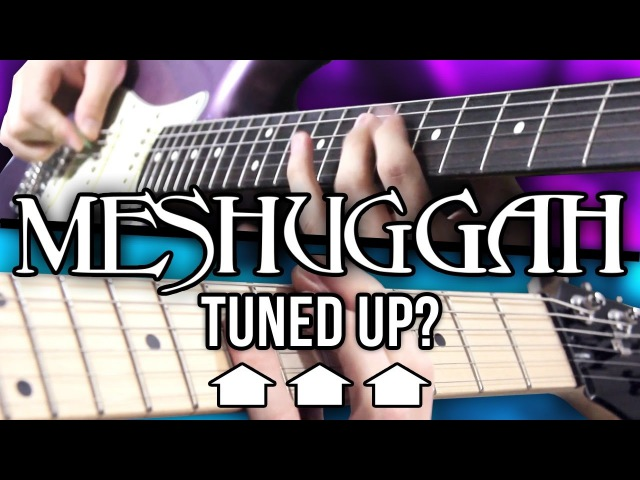 What If MESHUGGAH Tuned Up Pete Cottrell ft Andrew Baena
