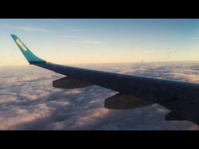 Flight from Boryspil to Amsterdam - UIA Embraer 195