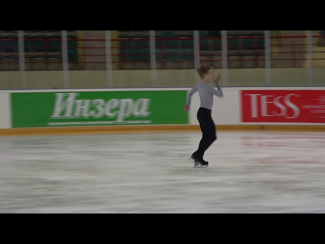 Финал Кубка России Ростелеком 2016 201 Mужчины, MC КП 11 Артём ЛЕЖЕЕВ СК