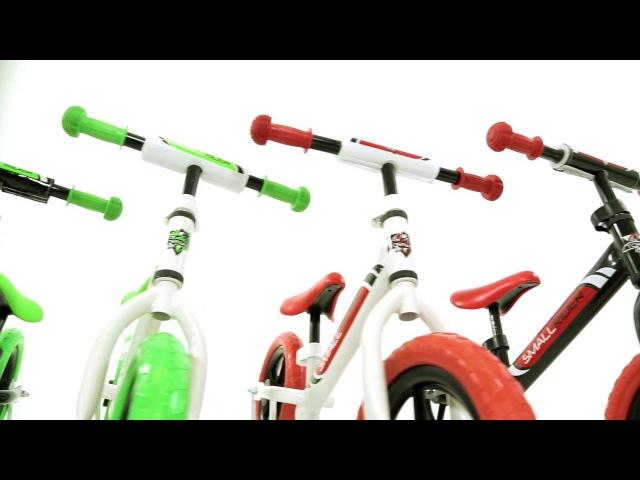 Видео - новый беговел-ураган Small Rider Tornado с цветными покрышками