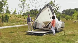 Роскошная палатка на колёсах