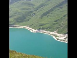 Вид на Алхар с горы Шимерой. Ботлихский район