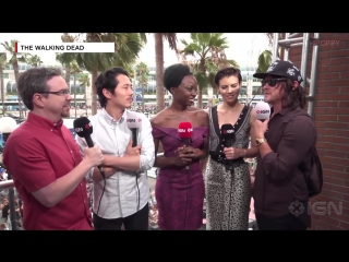 The Walking Dead Cast funny  cute Moments