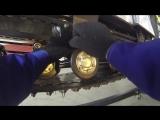 Baltmotors SnowDog: замена катков на склизы