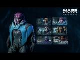 MASS EFFECT™: ANDROMEDA | Профили и отряд | Официальный трейлер игрового процесса — часть 2