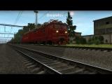 Мультиплеер Trainz 2012. Элекровоз ВЛ80С-2218 с грузовым составом