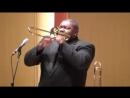 Wycliffe Gordon solo break on Soprano Trombone
