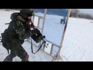 Огневая подготовка 2-й ГБР. ОРБ СПАРТА. 05.01.17 г