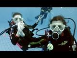 Детский праздник под водой в клубе Акванавт (короткая версия)