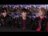 170207 Эксклюзивное интервью с GOT7 от KCONTV Original: Танцы ЮГёма и акапелла версия HardCarry от Джексона