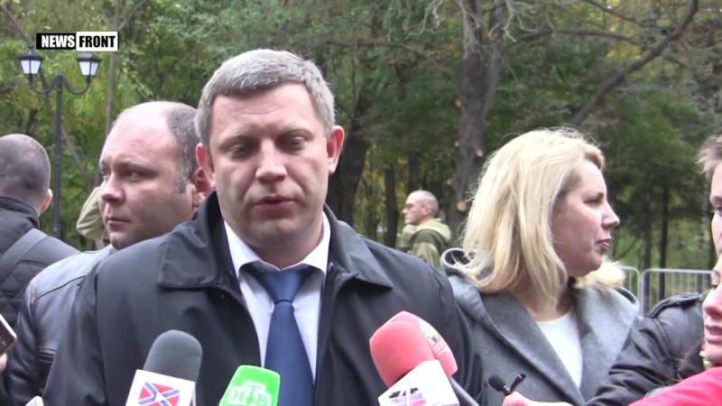Глава ДНР принял участие в открытие памятника Героям Донбасса в Ростове-на-Дону