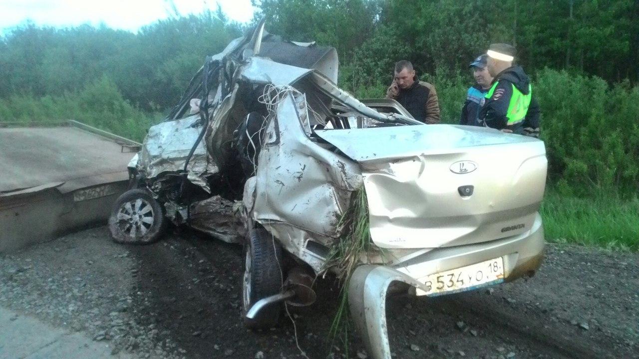 В ДТП на трассе Елабуга–Пермь пострадали пермские школьники
