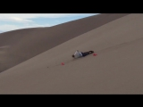 Sand Boarder Face Plants