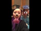 [SNS] Kumi with Chara (13-01-2017)
