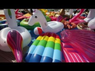 Вторая жизнь надувных пончиков и фламинго!
