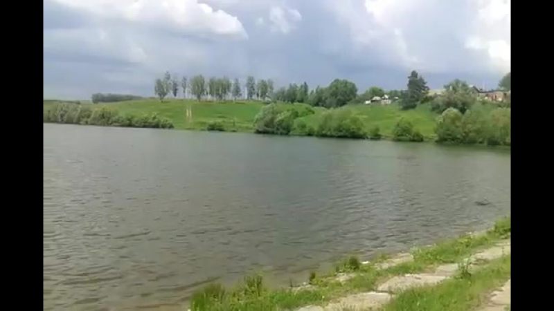 0274 160604 52.692108 35.768345 Кромы Пушкарский переулок река Недна плотина