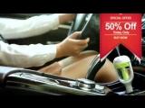 🍓 🍒 12V Mini Car Steam Humidifier Air Purifier Aroma Aromatherapy Essential Oil Diffuser Mist Maker Mini Fogger✈️ 👍