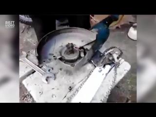 Электропила по-русски