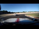 Oldtimer Grand Prix 2013. 1963.5 Ford Galaxie 500. Highlights of first race on GP-track.