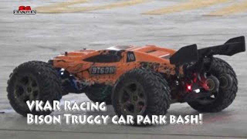 VKAR RACING BISON V2 Brushless RC Truck- RTR Car park bashing!