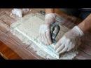 Декоративные кирпичики из гипса (способ 2)