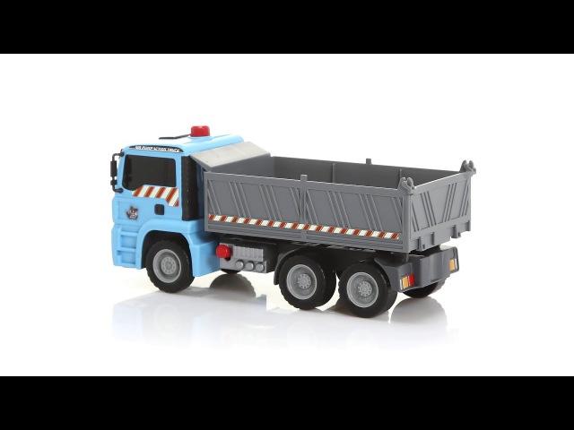 Dickie 3805001 Самосвал Man серия Air Pump 28см AirPump Dump truck Man