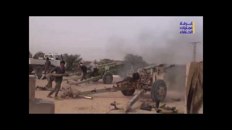 Of the operations of the Syrian army and the allies on the southern outskirts of the city of Abu Kamal