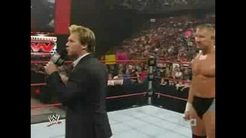 Raw 7/21/08 Chris Jericho Talked About Hbk ´s ending carer