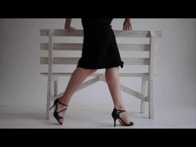 Tango Women´s Technique. Improvisation - Enamorado. Angelina Zubko
