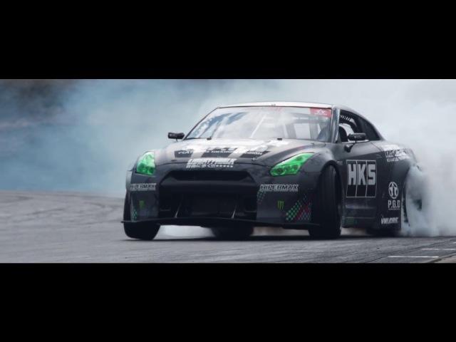 1300HP Daigo's 「FAT FIVE Racing HKS R35 GT-R」 for Formula Drift USA 2017