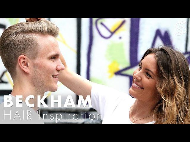 Hair salon Franchise Slikhaar Studio - Mens hairstyle like David Beckham