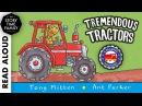 Tremendous Tractors by Tony Mitton Ant Parker Read aloud book for Kids