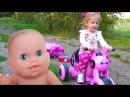 Куклы Пупсики Беби Бон и Кукла Барби Все серии подряд про игрушки для Девочек ВИ ...
