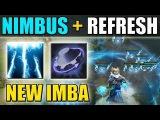 No Cooldown Nimbus! New Imbalanced 7.07 Ability Draft Build Nimbus + Rearm Dota 2
