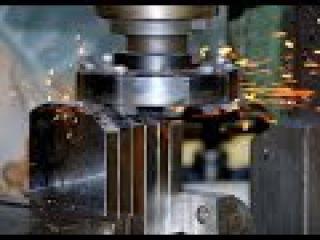 Самая Сумасшедшая скорость фрезеровки металической детали 2